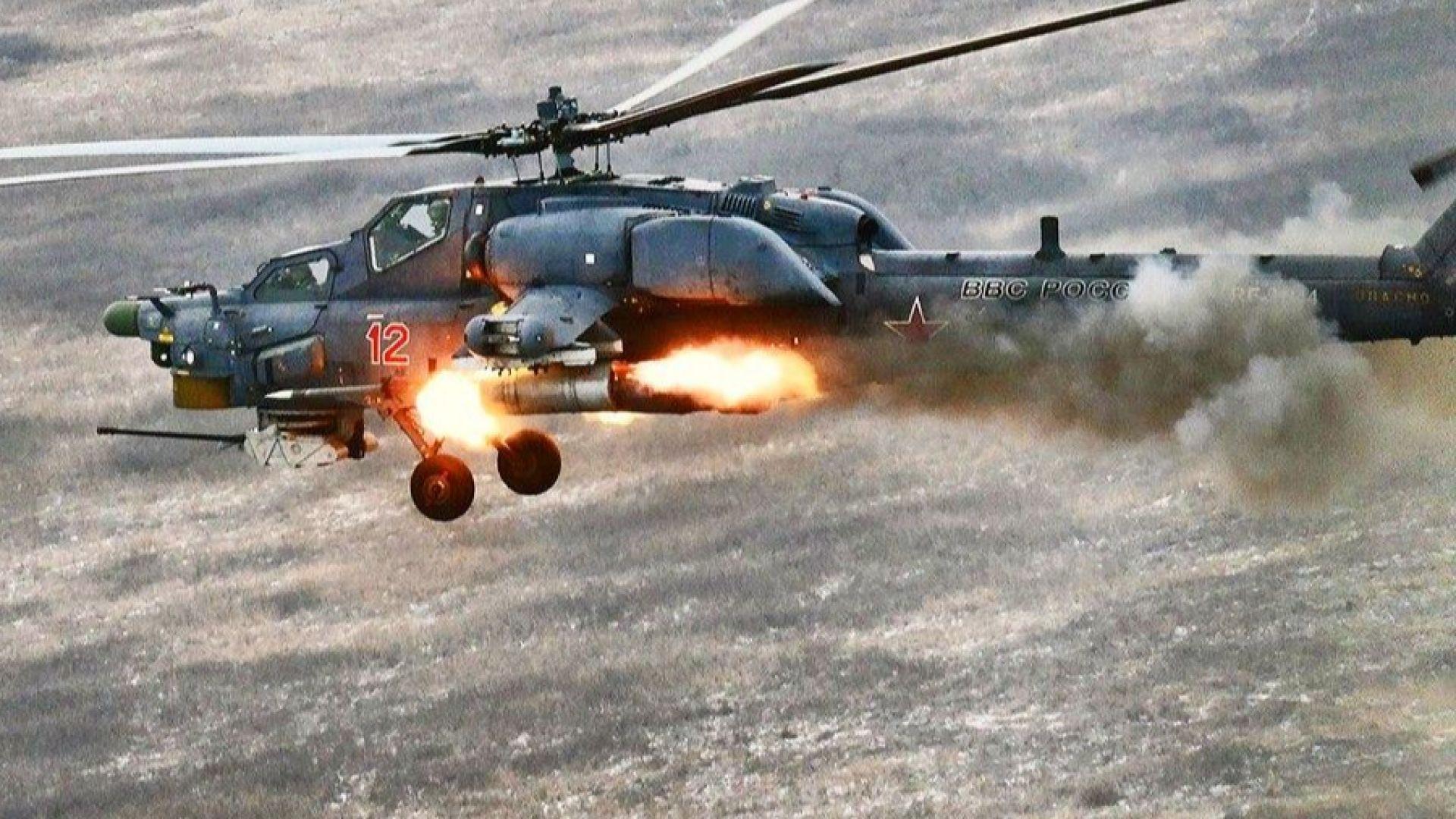 Русия превръща Ми-28 в летящ танк (снимки)