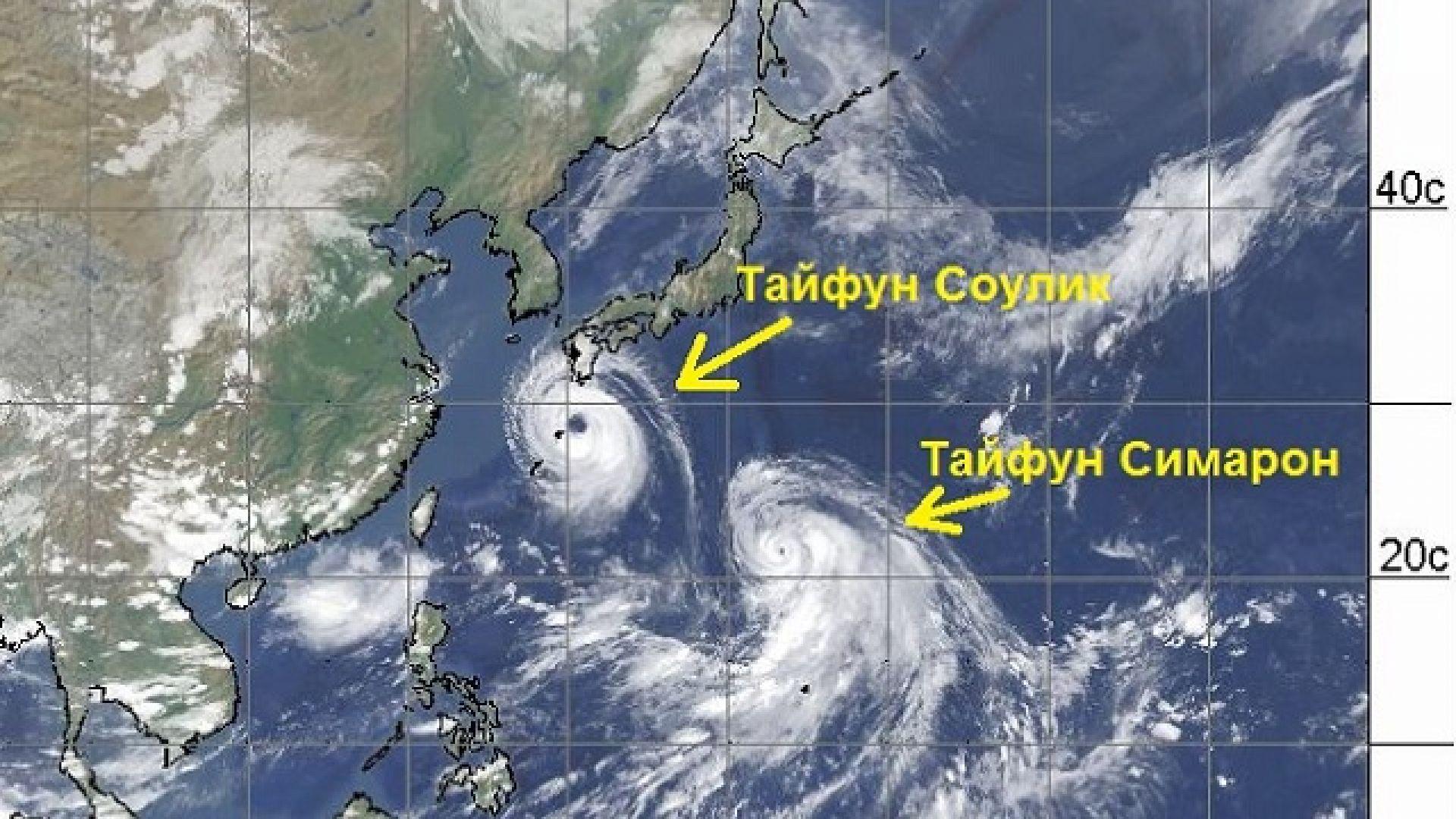 """Тихият океан """"гъмжи"""" от урагани"""