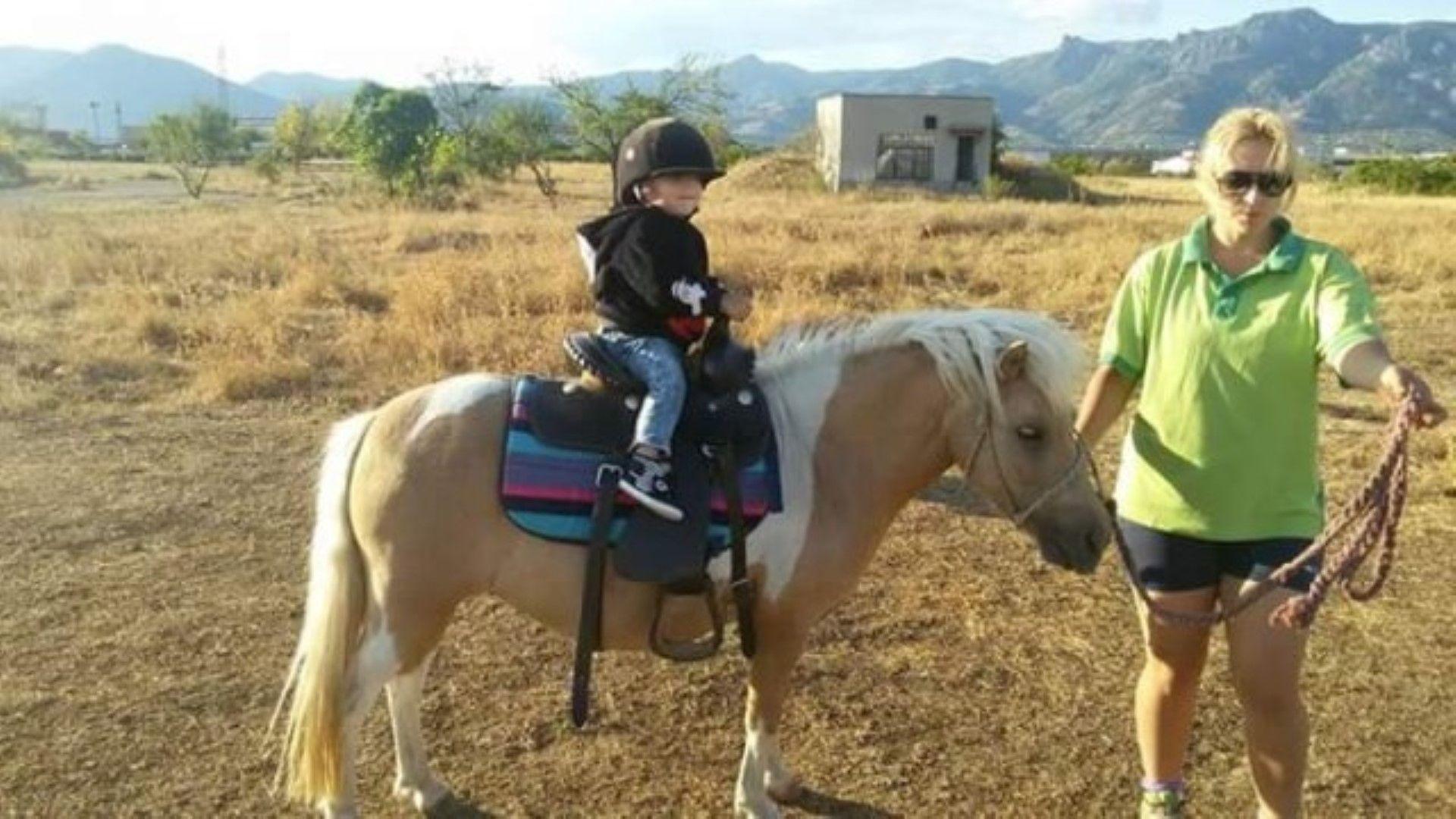 Починалата в Сливен родилка помагала на болни деца в конна база