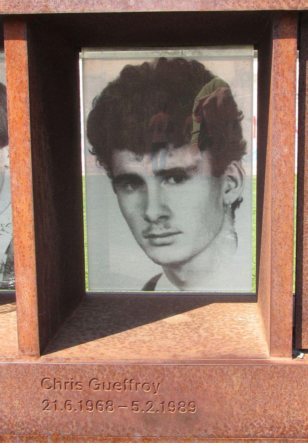 Крис Гефрой - последната убит при преминаване на Берлинската стена