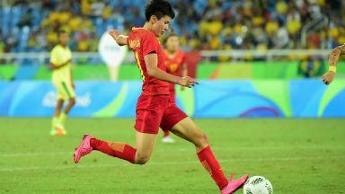 Китайска резерва вкара 9 гола за 34 минути в нереален мач (видео)