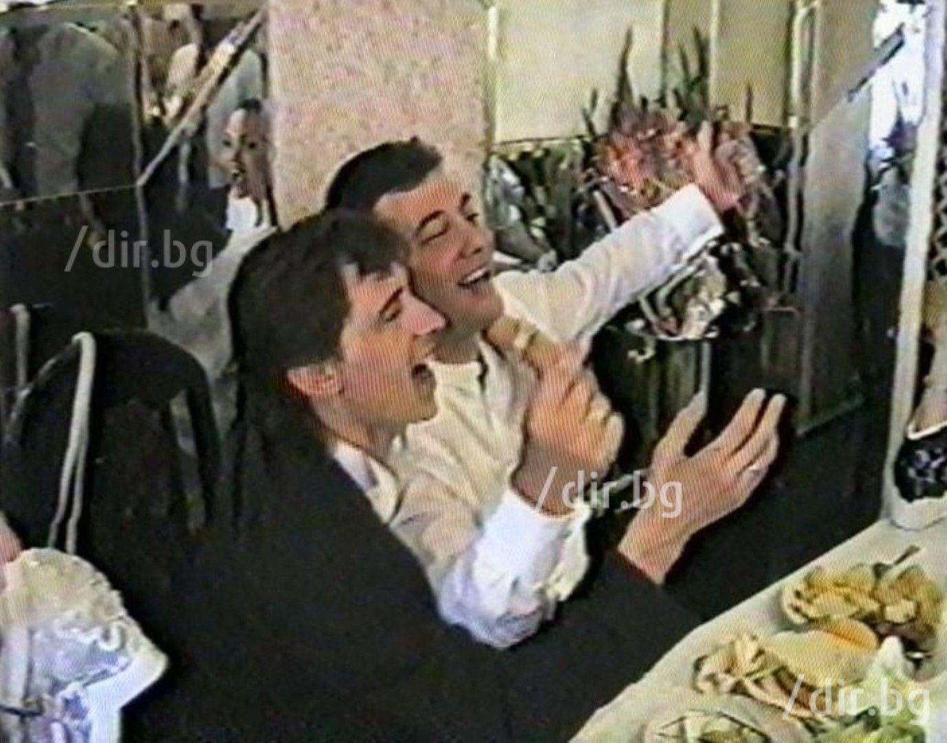 9 септември 1995 г. Георги Илиев кумува на Николай Цветин.