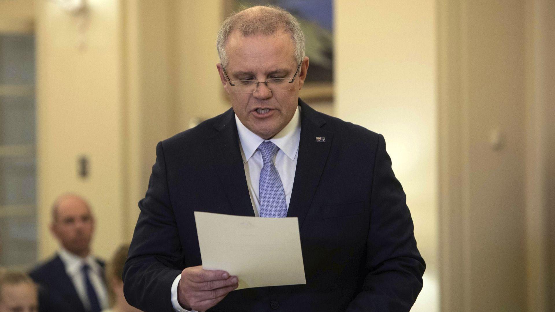 Премиер евангелист оглави кабинета в Австралия