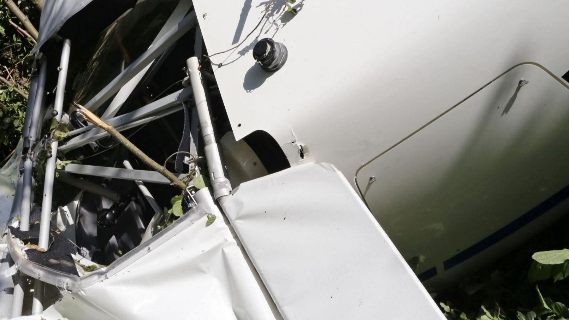 Самолет се разби  на летище Балчик, пилотът е загинал