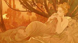 Алфонс Муха - ненадминатият майстор на женски портрети
