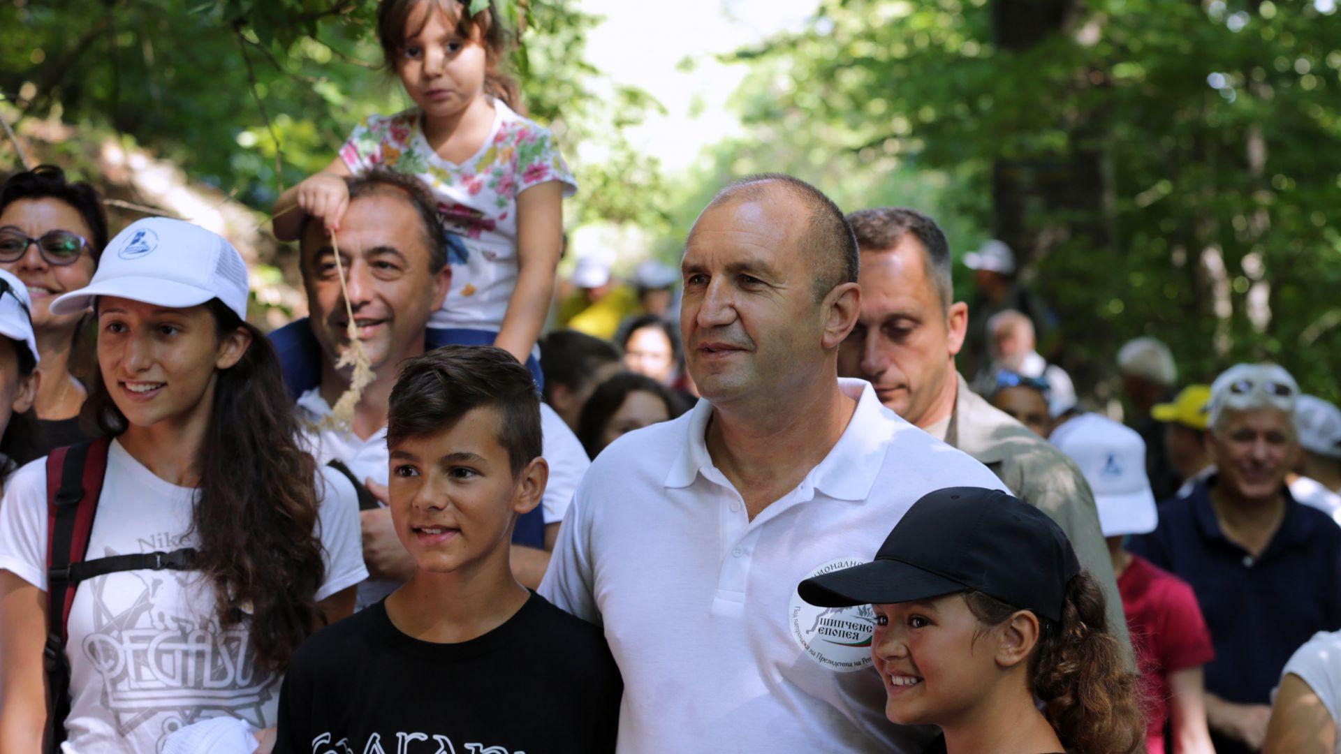 Радев на Шипка: Новите политически шарлатани опитаха да пренапишат историята