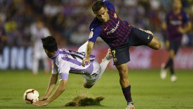 """Видеото спаси """"Барселона"""" в добавеното време"""