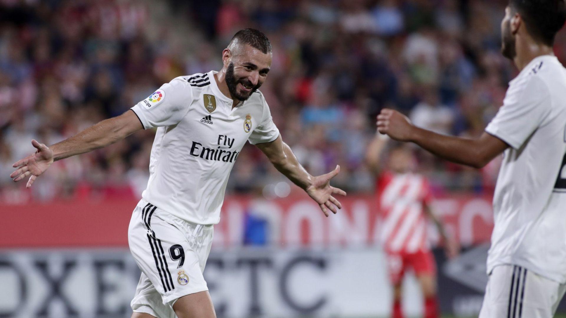 Две дузпи вдъхновиха обрат за Реал в Жирона