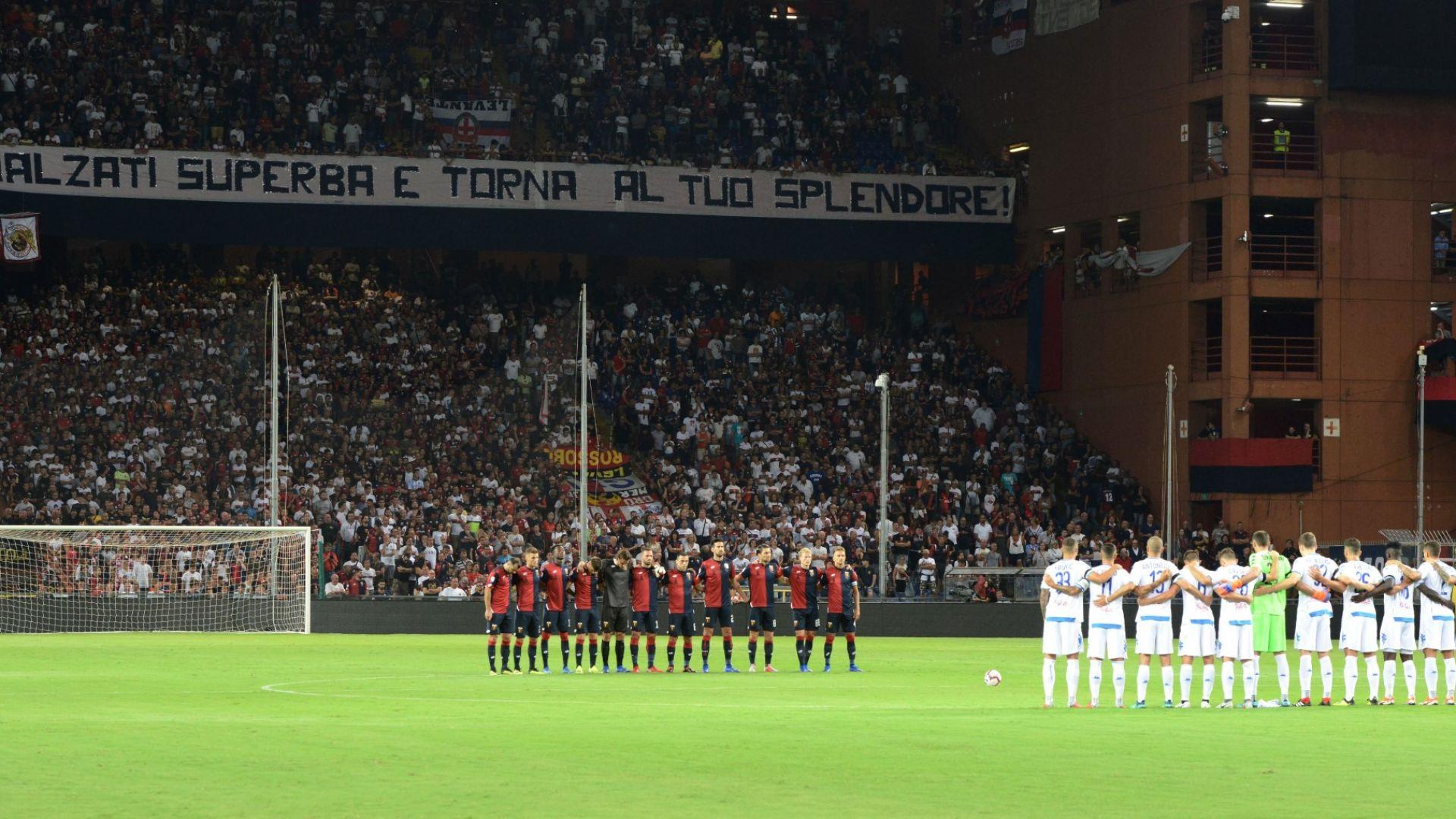 43 минути мълчание за 43-те жертви край Генуа