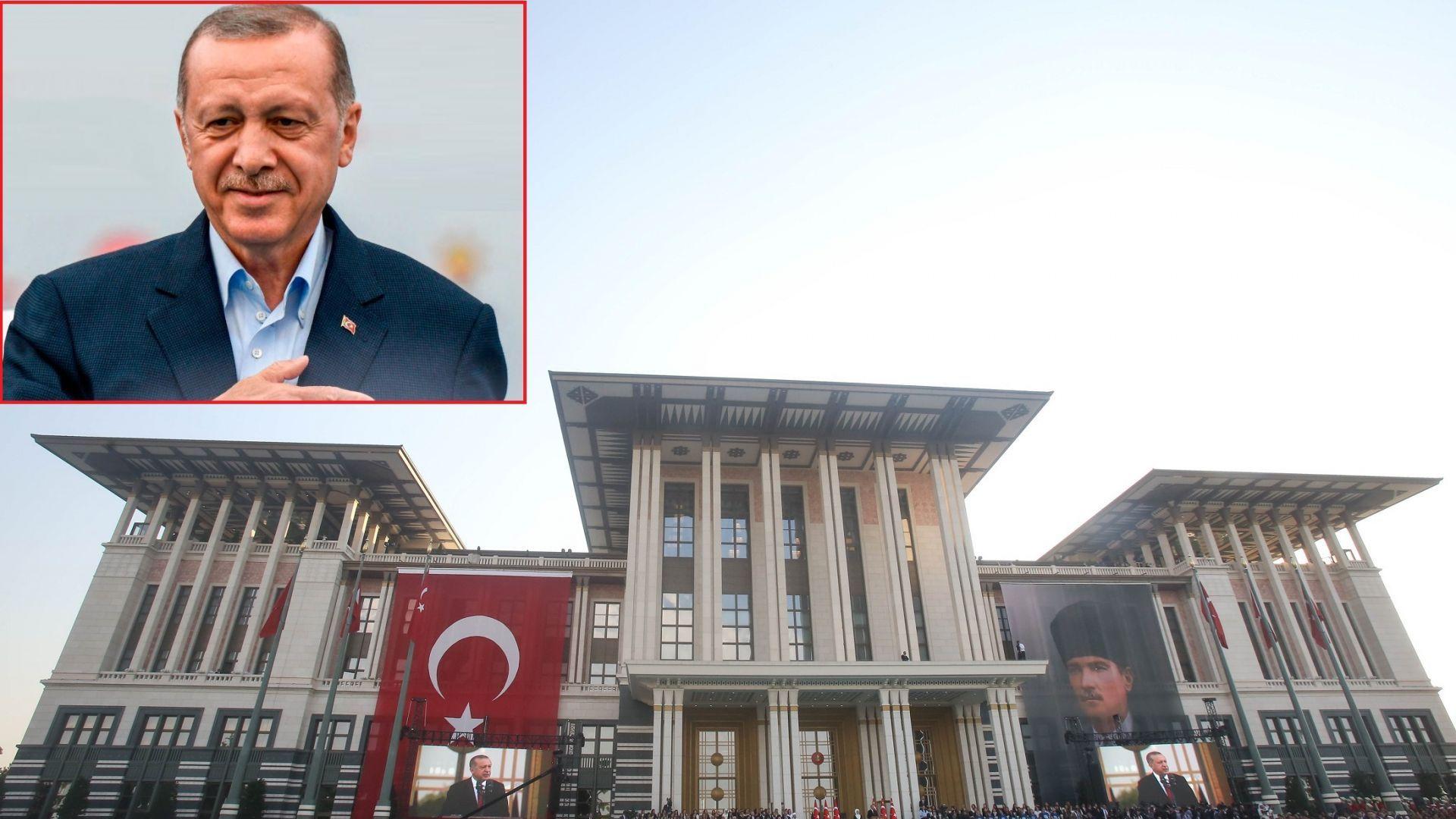 Ердоган строи нов дворец