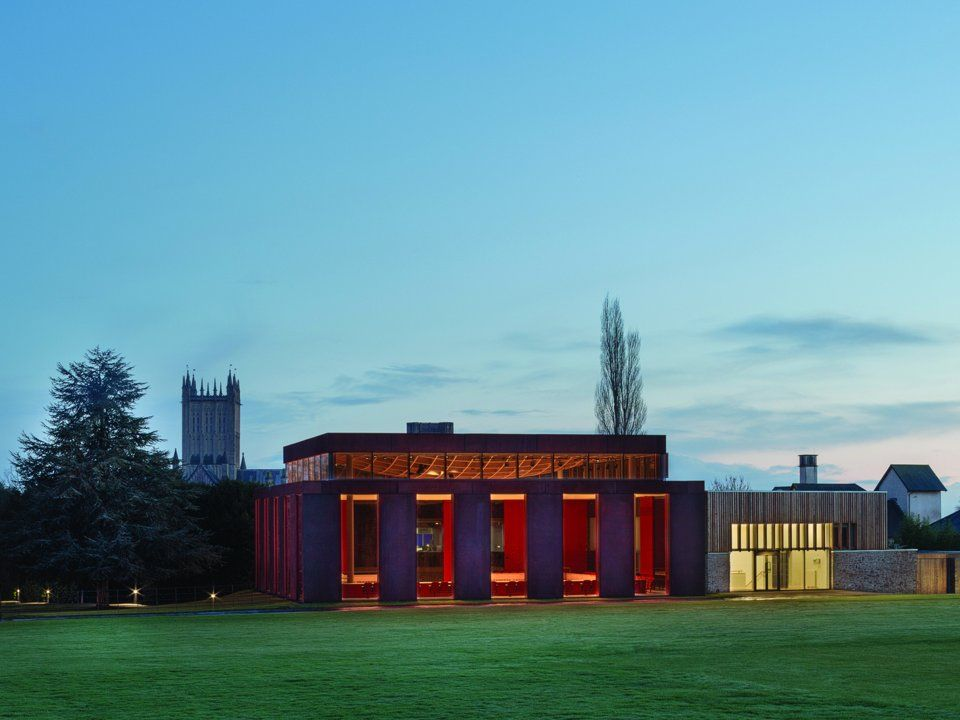 Cathedral School в Уелс  Архитект: Ерик Пари Архитекти