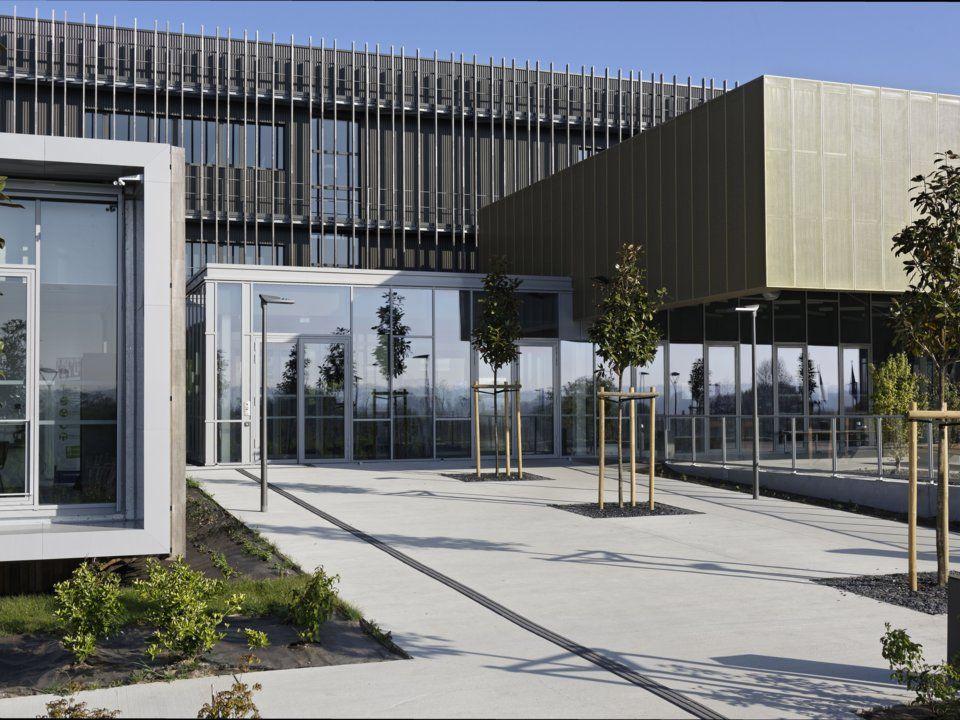Кампус за гастрономически науки в Нормандия Архитект: Ателие Арсо