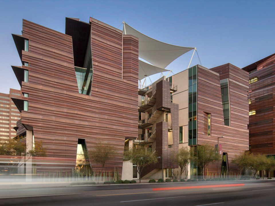 Корпус за биомедицински науки Архитект: СО архитекти