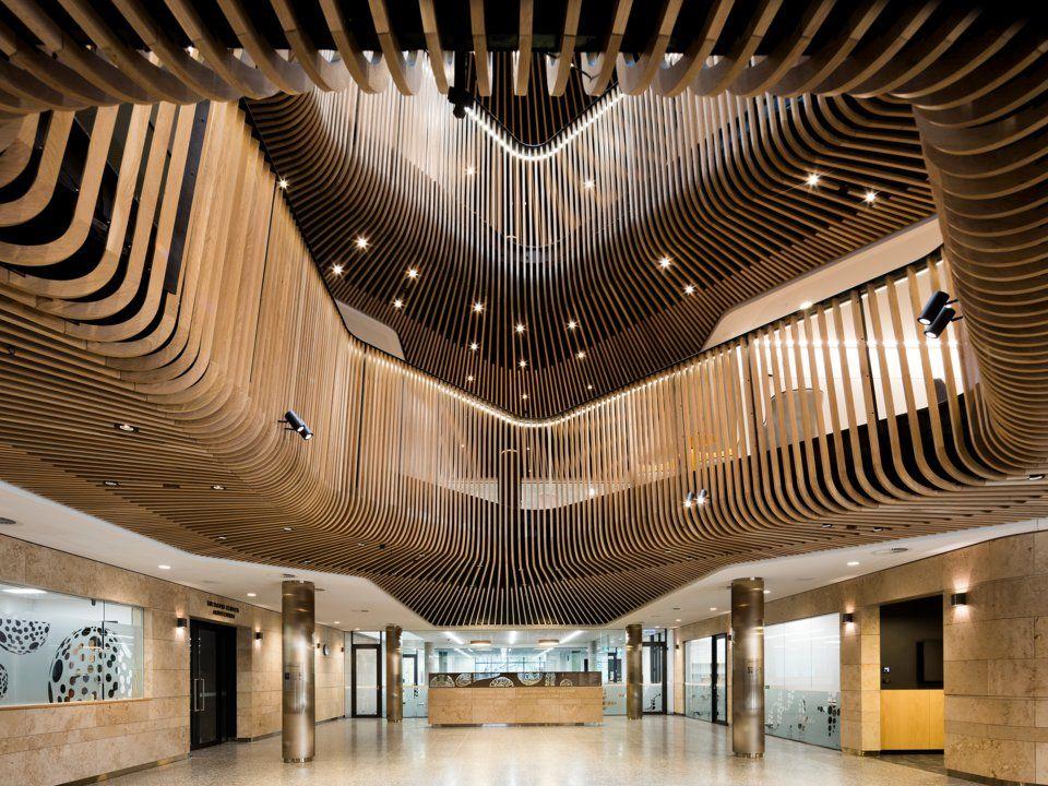 Sir Zelman Cowen Centre for Science в Австралия  Архитект: Архитектурно студио Кокс