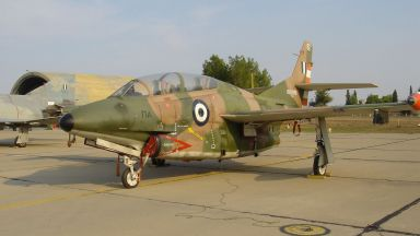 Гръцки военен самолет се разби, първият пилот загина