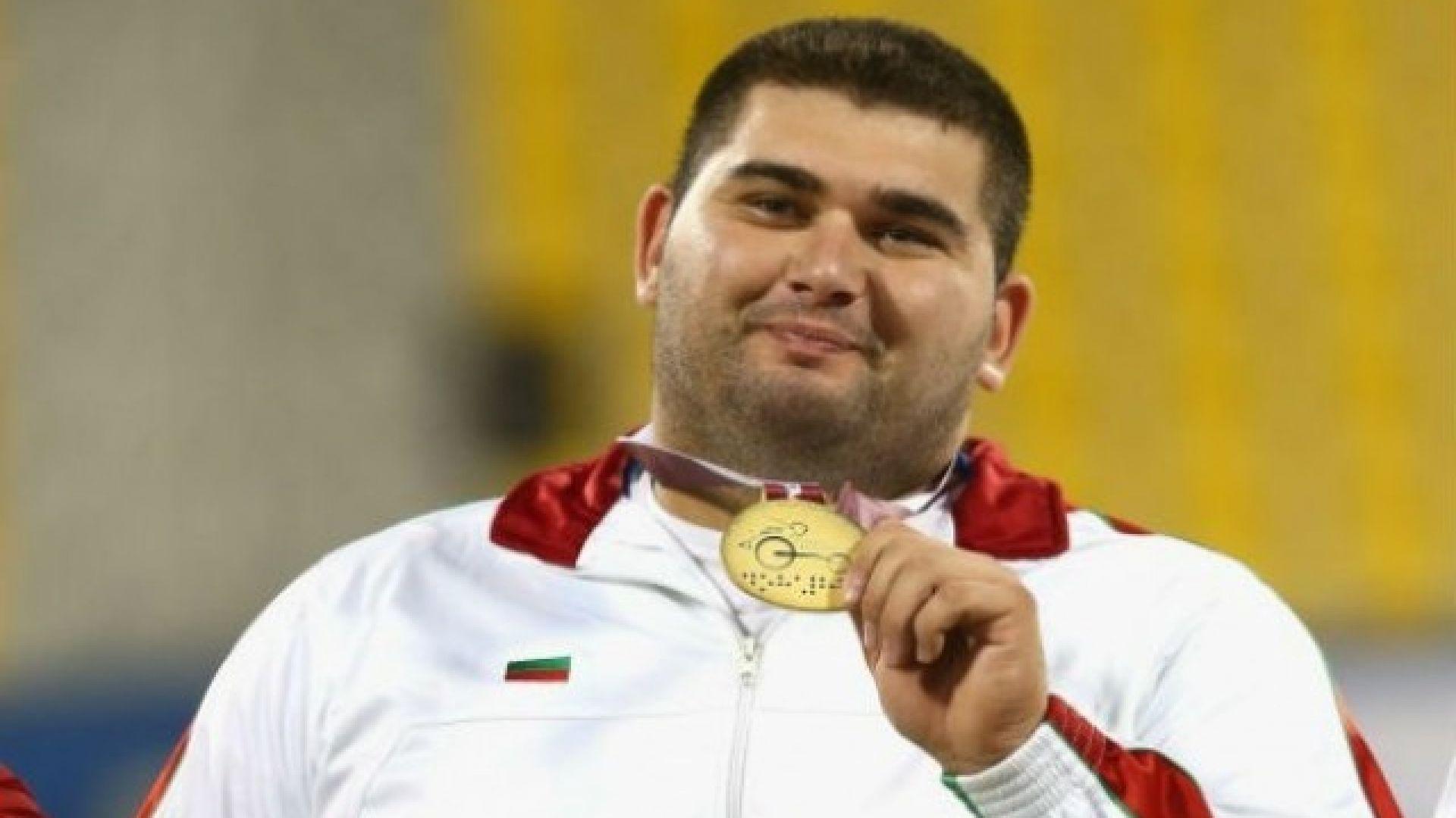Роден параолимпиец завоюва четвърта европейска титла