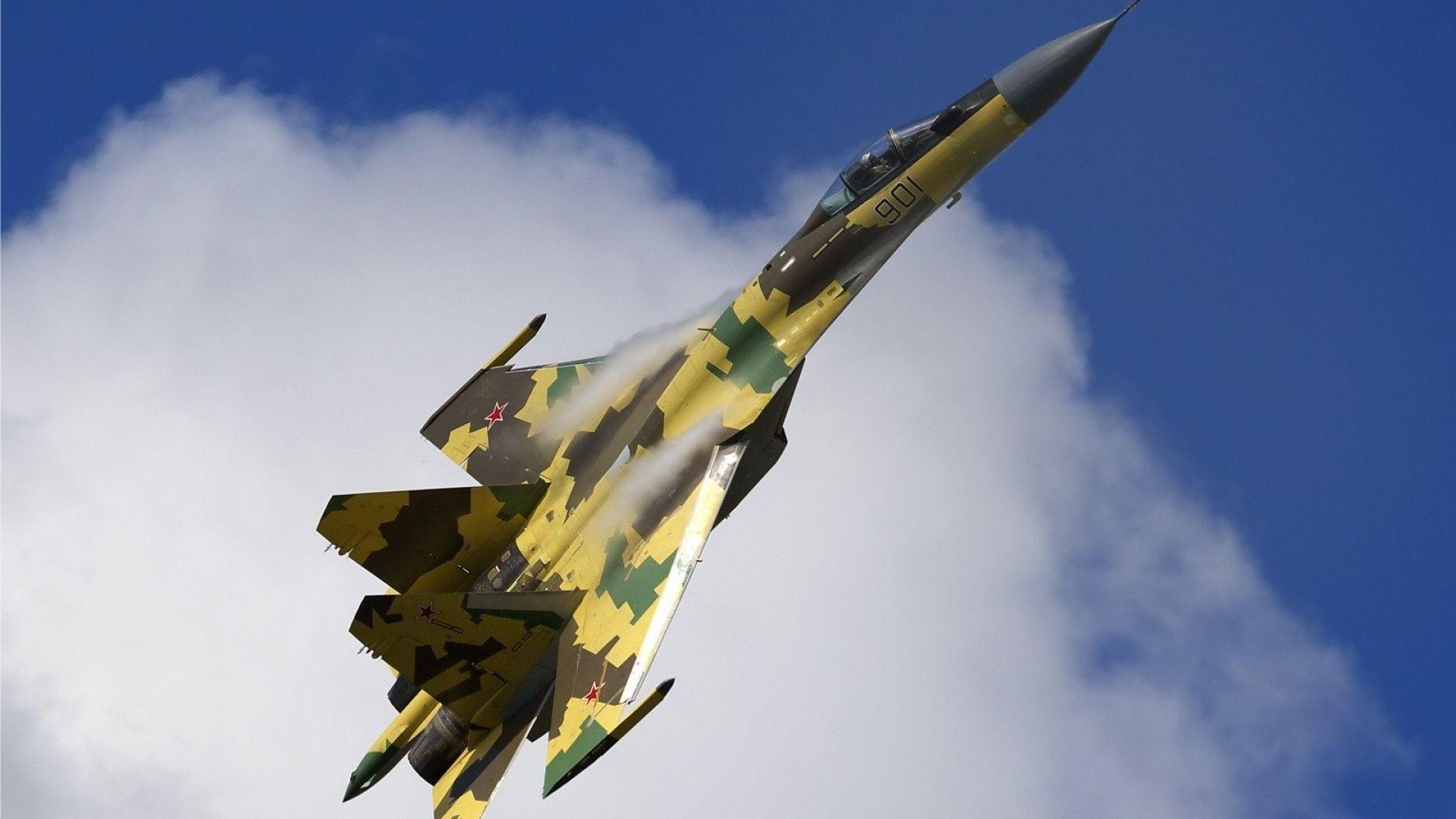 Турция изучава характеристиките на руските изтребители Су-35