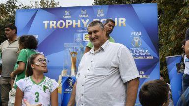 Издигат Любо Ганев за шеф на волейбола на 27 ноември