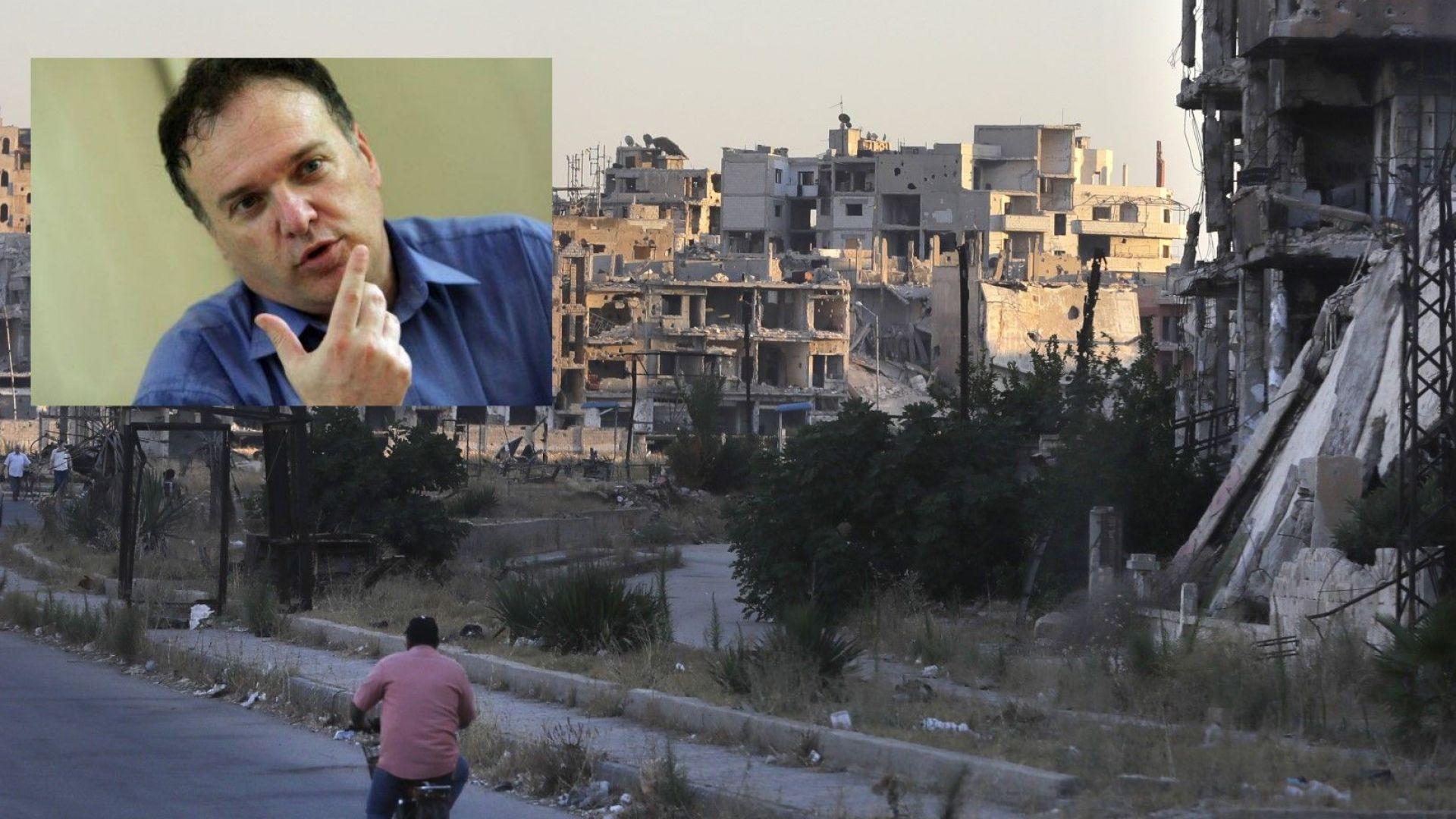 Владимир Чуков пред Dir.bg: Битката за Идлиб ще е последна страница от победата на Асад