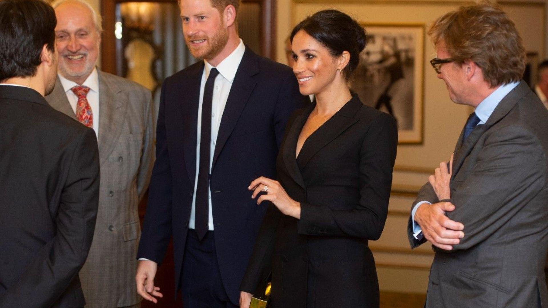 Меган с най-късата рокля, откакто е херцогиня