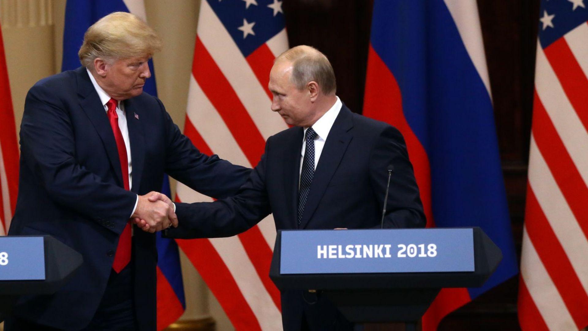 """Разкриха защо Тръмп и Путин няма да имат """"пълномащабна среща"""" на 11 ноември"""