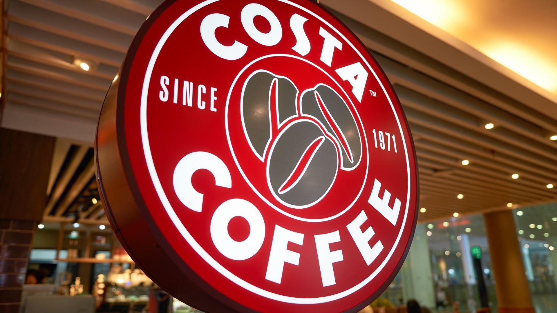 Сделка за 4,2 млрд. евро: Coca-Cola купува кафе веригата Costa