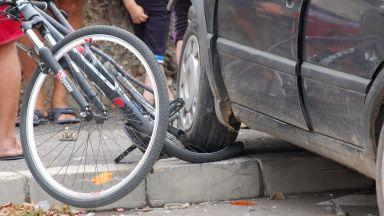Пиян шофьор уби дете с колело, то издъхнало пред очите на полицаи и лекари