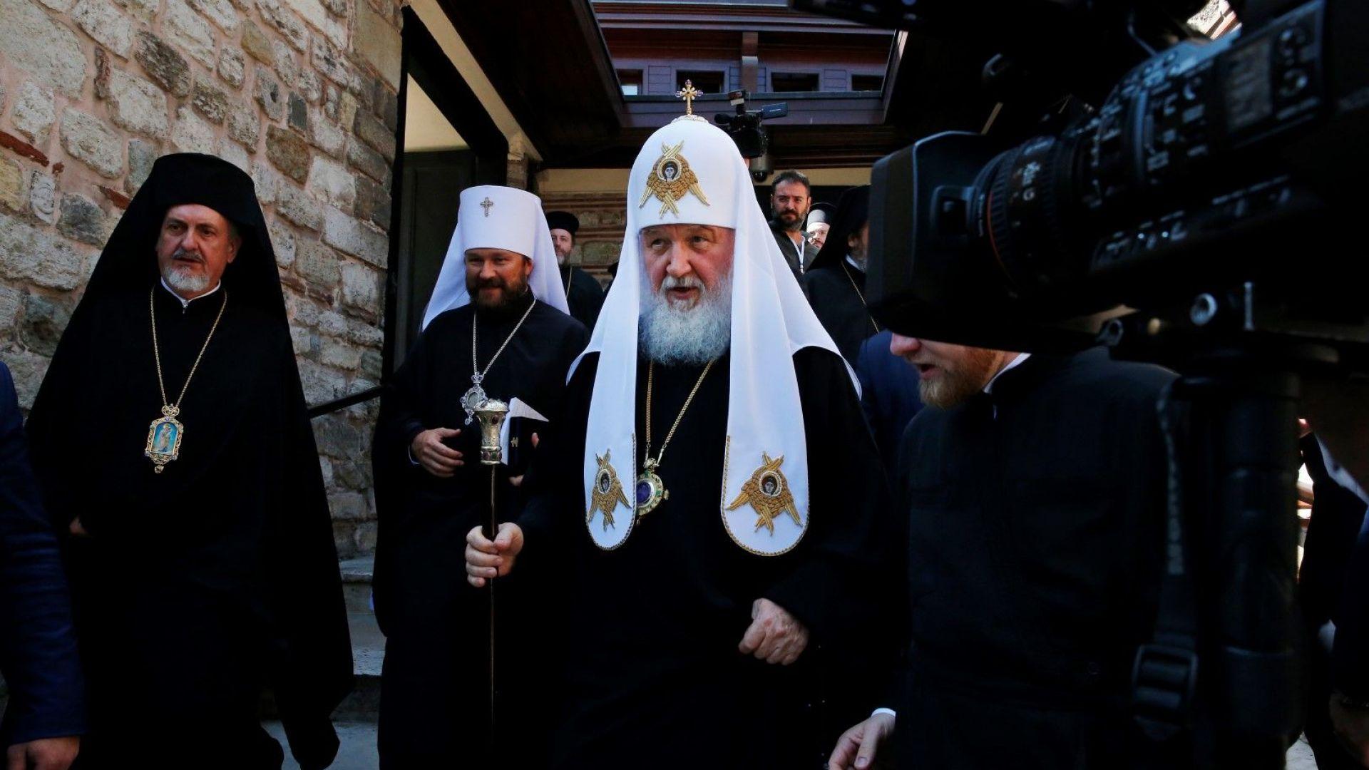 Започна съдбовната среща на патриарх Кирил и Вселенския патриарх Вартоломей