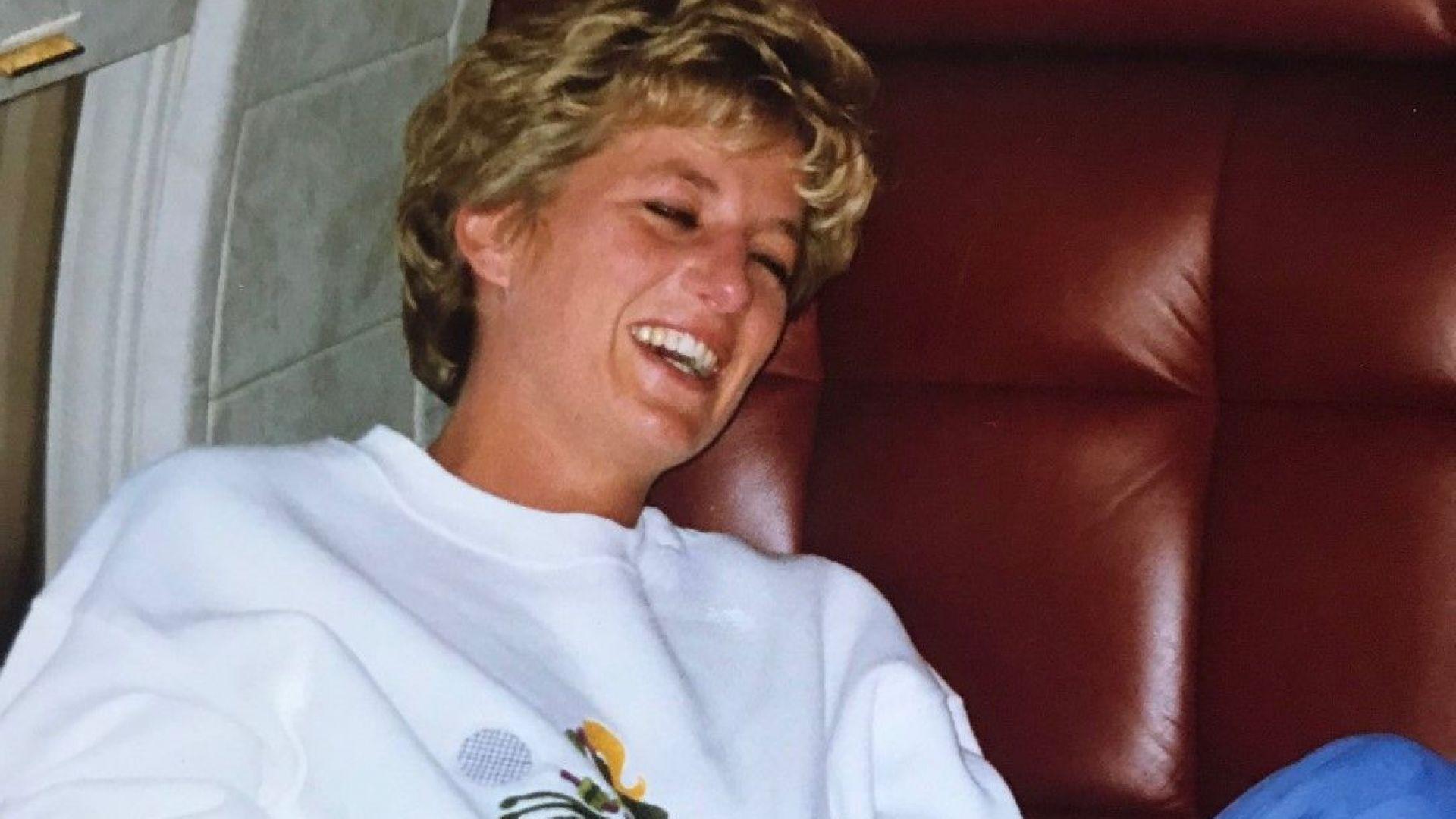 Приятелка туитна непоказвана снимка 21 г. след смъртта на Даяна: Така, както я помня