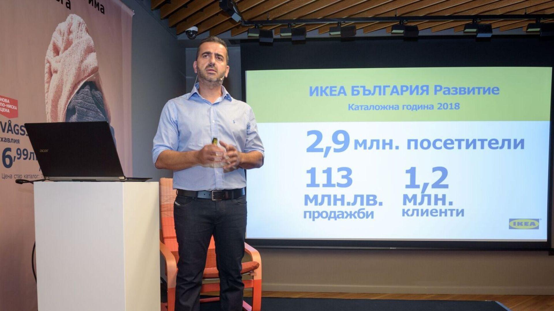 ИКЕА представи новия си каталог  и  обяви отварянето на център за поръчки в Пловдив