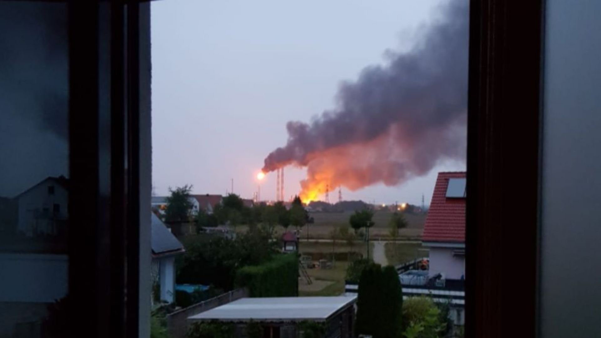 Експлозия в рафинерия край южногерманския град Инголщат, има ранени