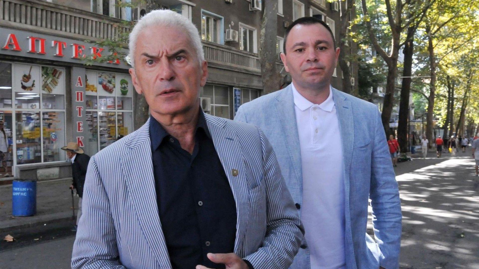 Сидеров за декларацията на НФСБ: Няма да допуснем дестабилизация