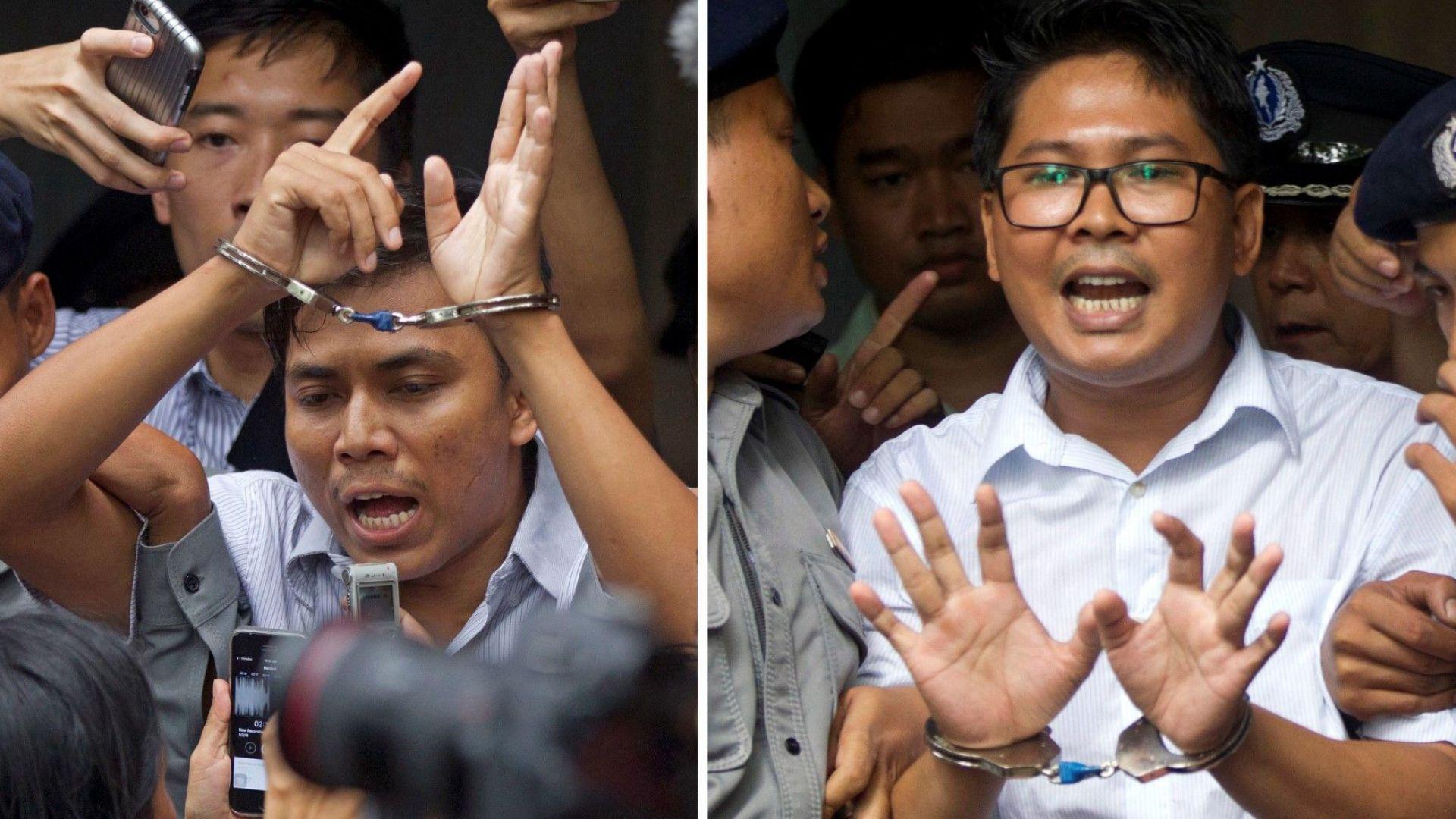 Съд в Мианма постанови присъда от 7 години затвор за