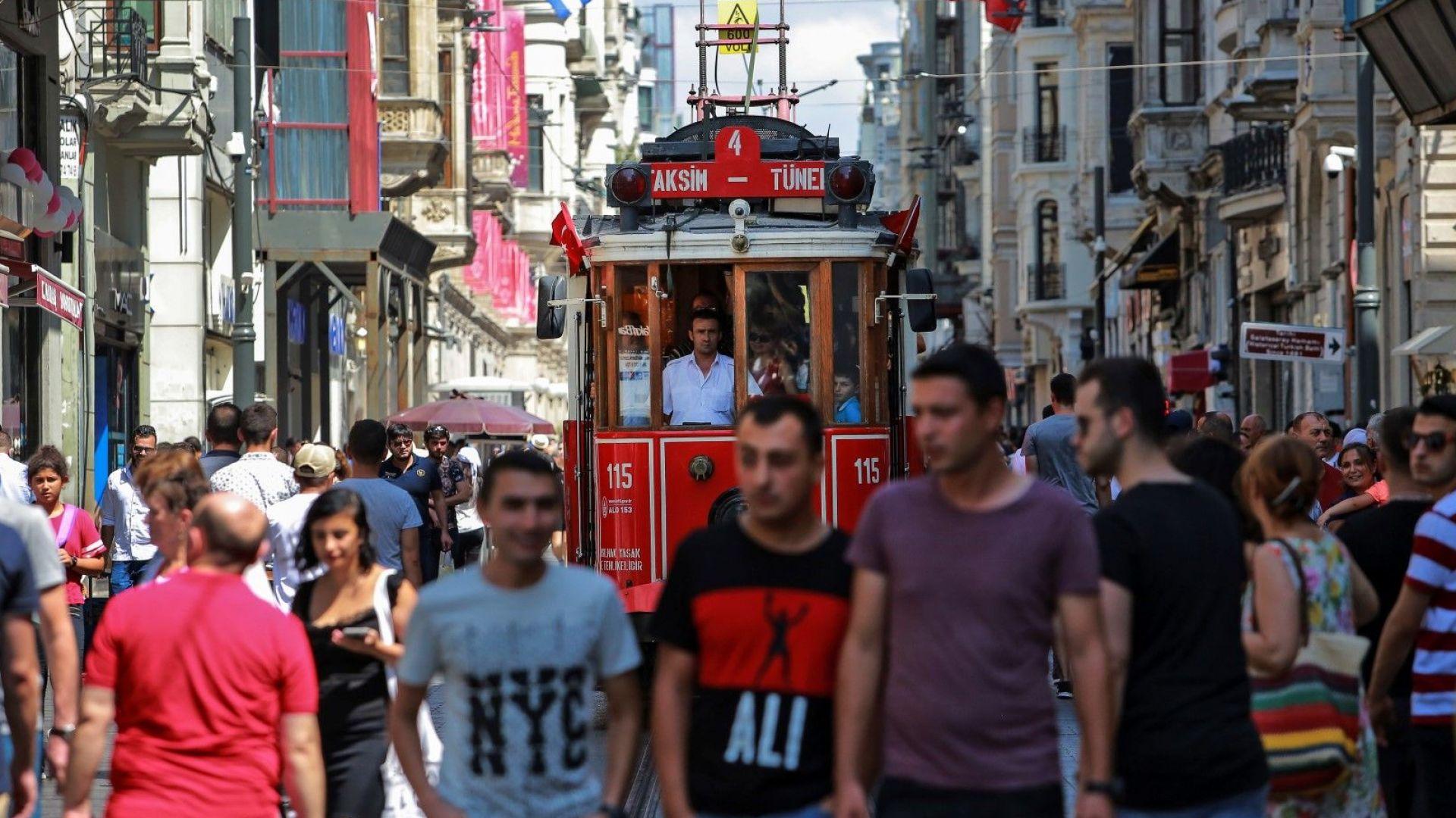 Инфлацията в Турция достигна 18%