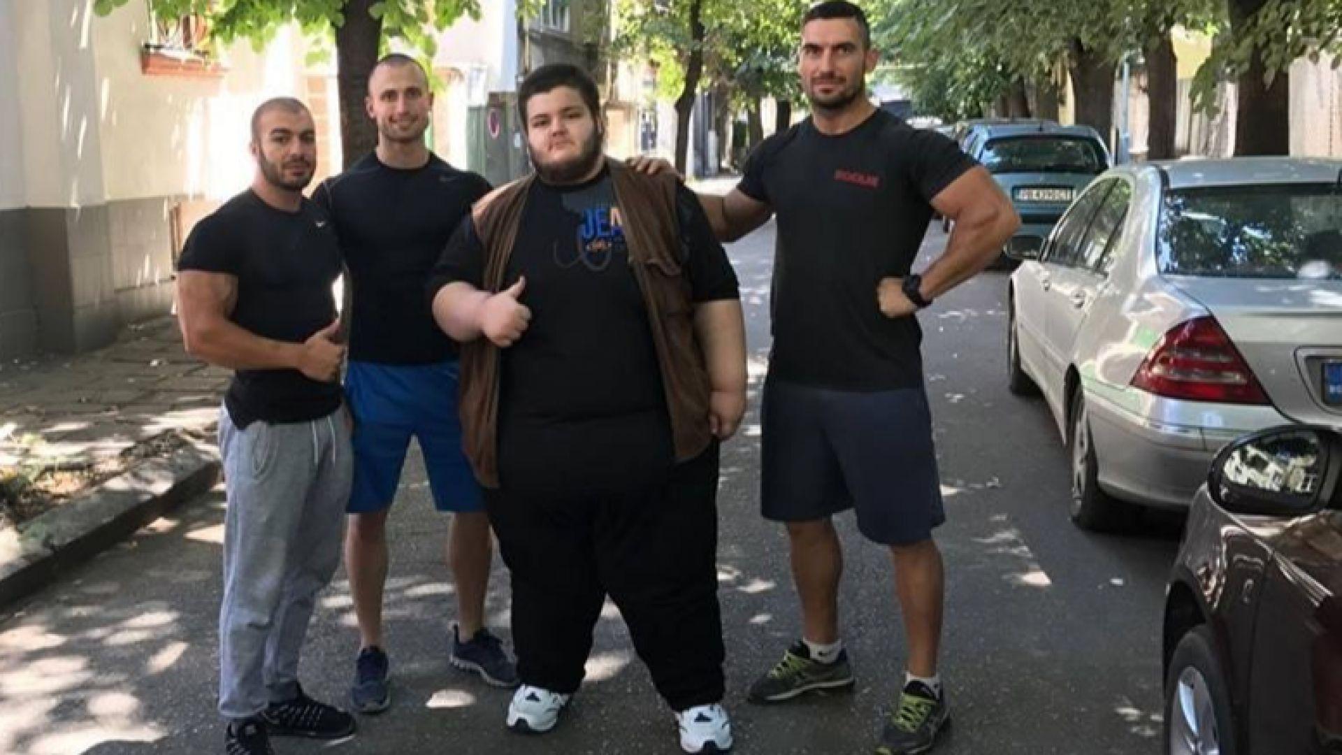Как най-тежкият българин победи себе си, заболяването и се завърна в класната стая