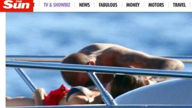 Дейвид и Виктория интимни на яхтата на Елтън Джон (снимки)