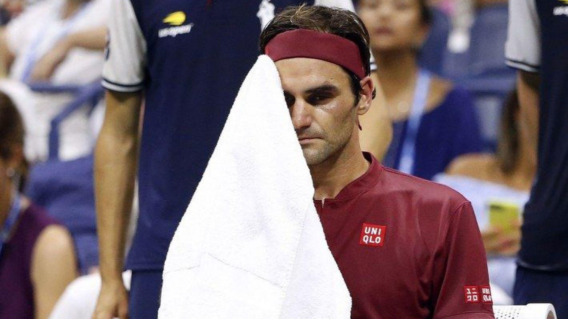 Световният №55 разби мечтата на Федерер в исторически мач