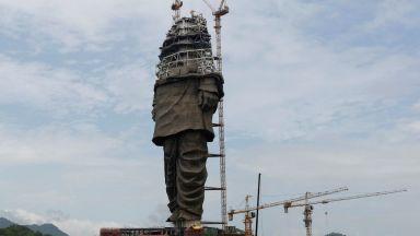 Пред завършване е най-високата статуя в света