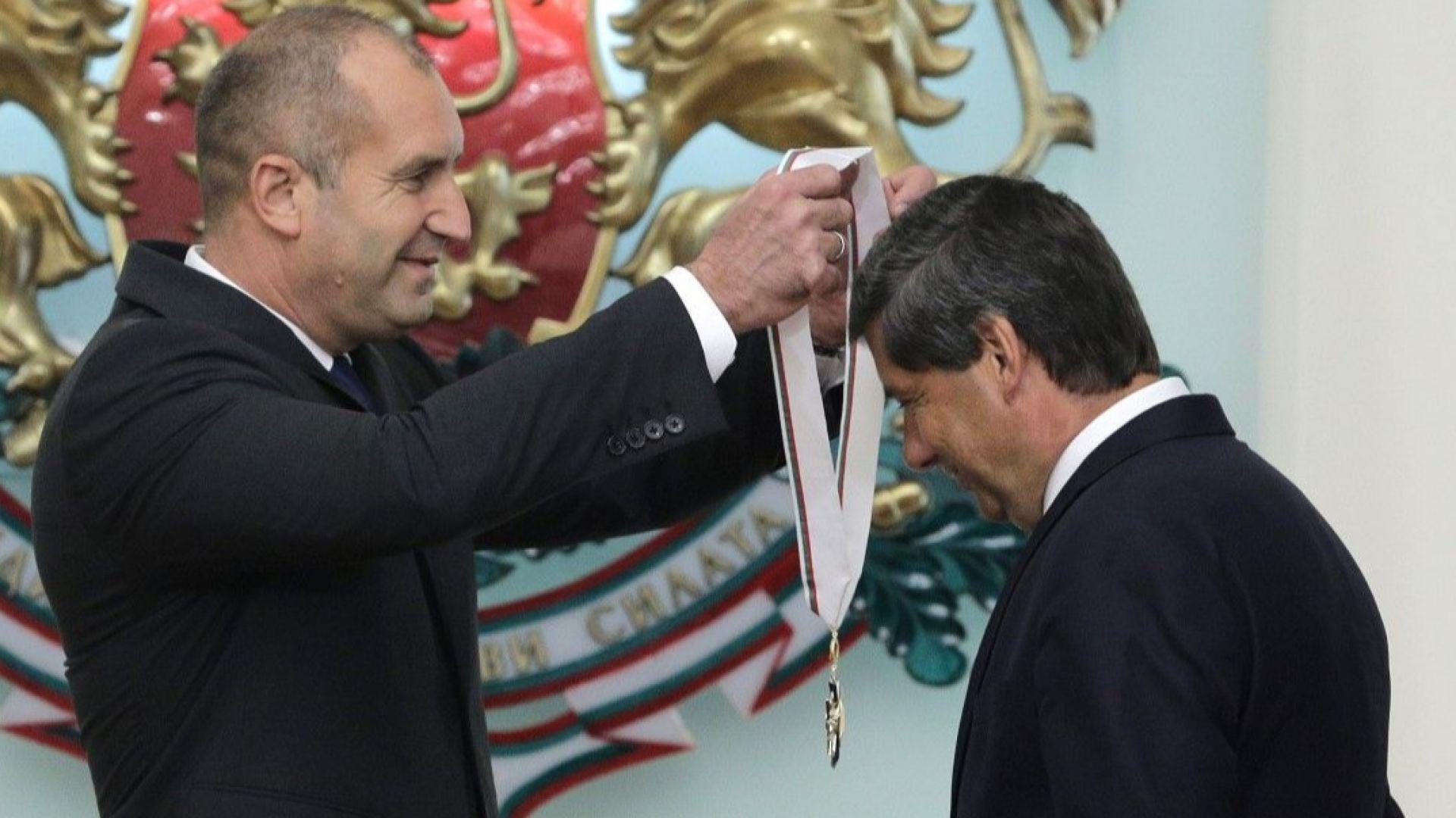 Радев връчи орден на посланика на Австрия: Страната ви е приоритетен икономически партньор