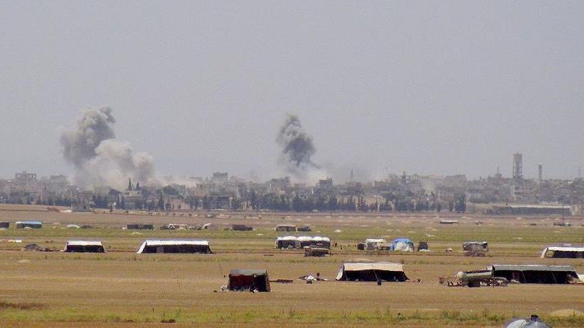 Атаката срещу Идлиб започна: Руски самолети бомбардират провинцията