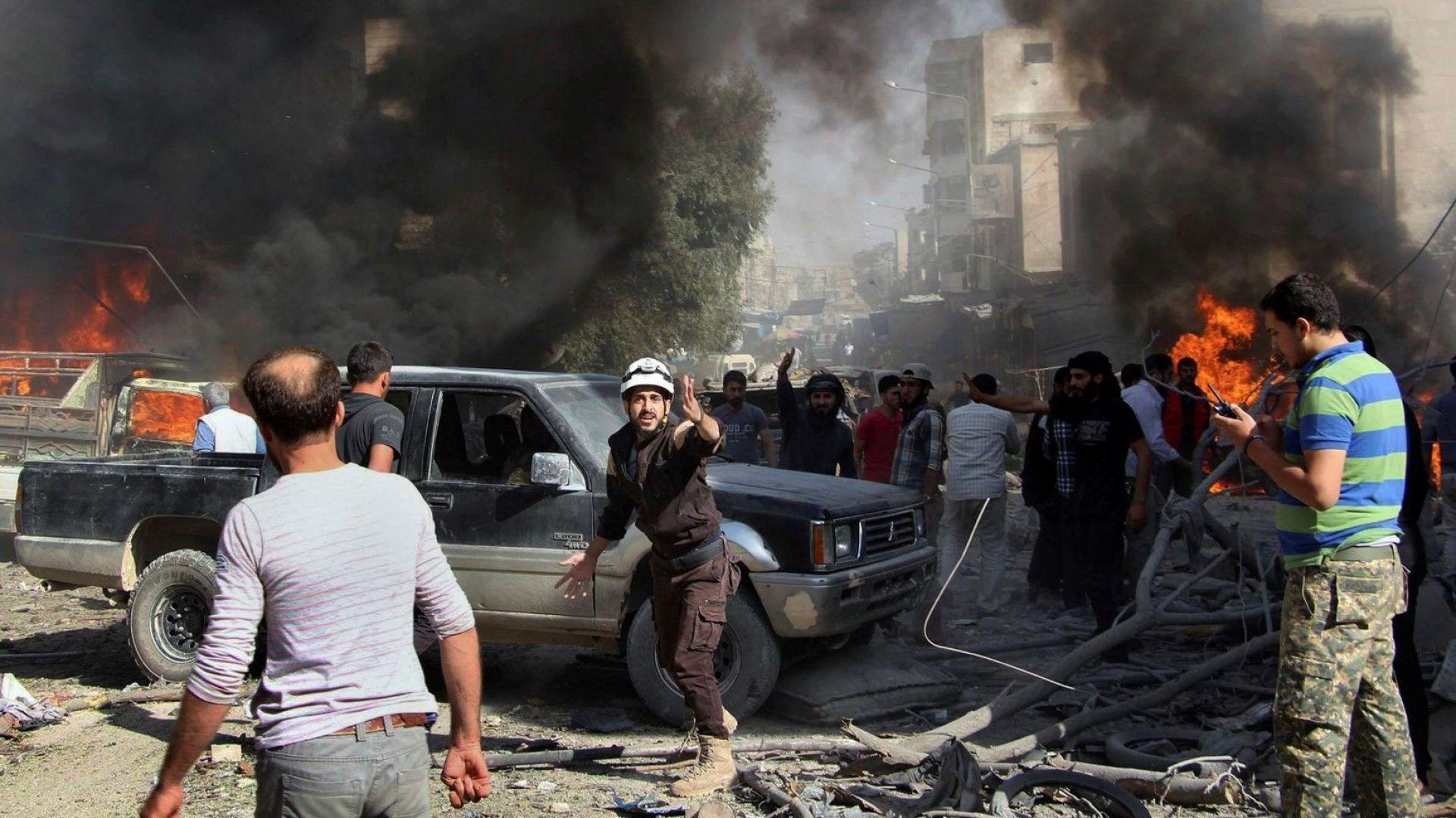 """Кремъл: Сирийската армия """"се готви да реши"""" проблема с """"тероризма"""" в Идлиб"""