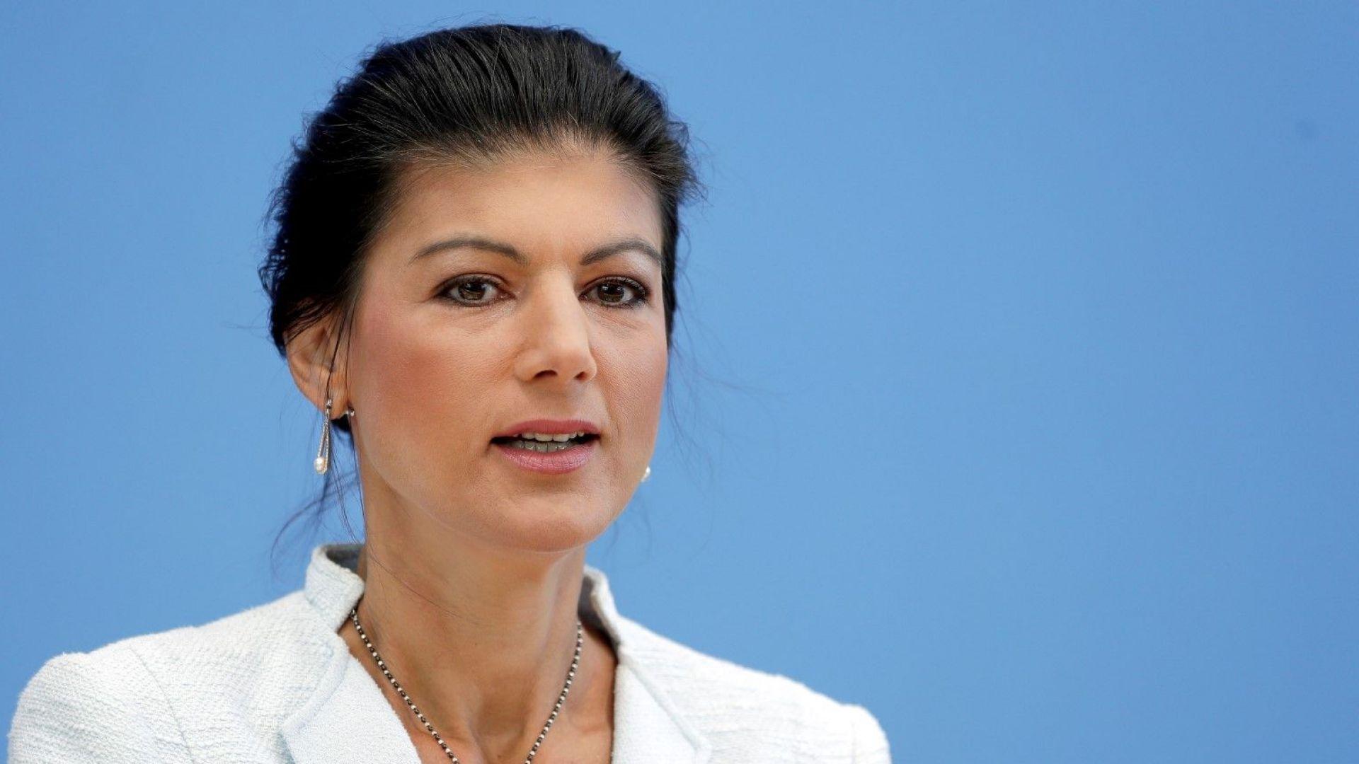 Прорускинастроената Сара Вагенкнехт създаде ново ляво движение в Германия