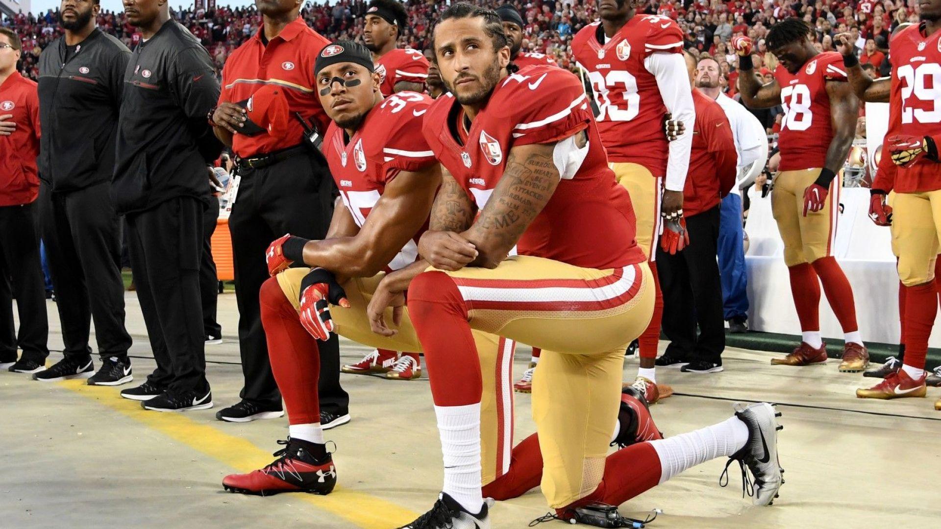 Тръмп отново захапа бунтаря, лидер на протестите в американския спорт