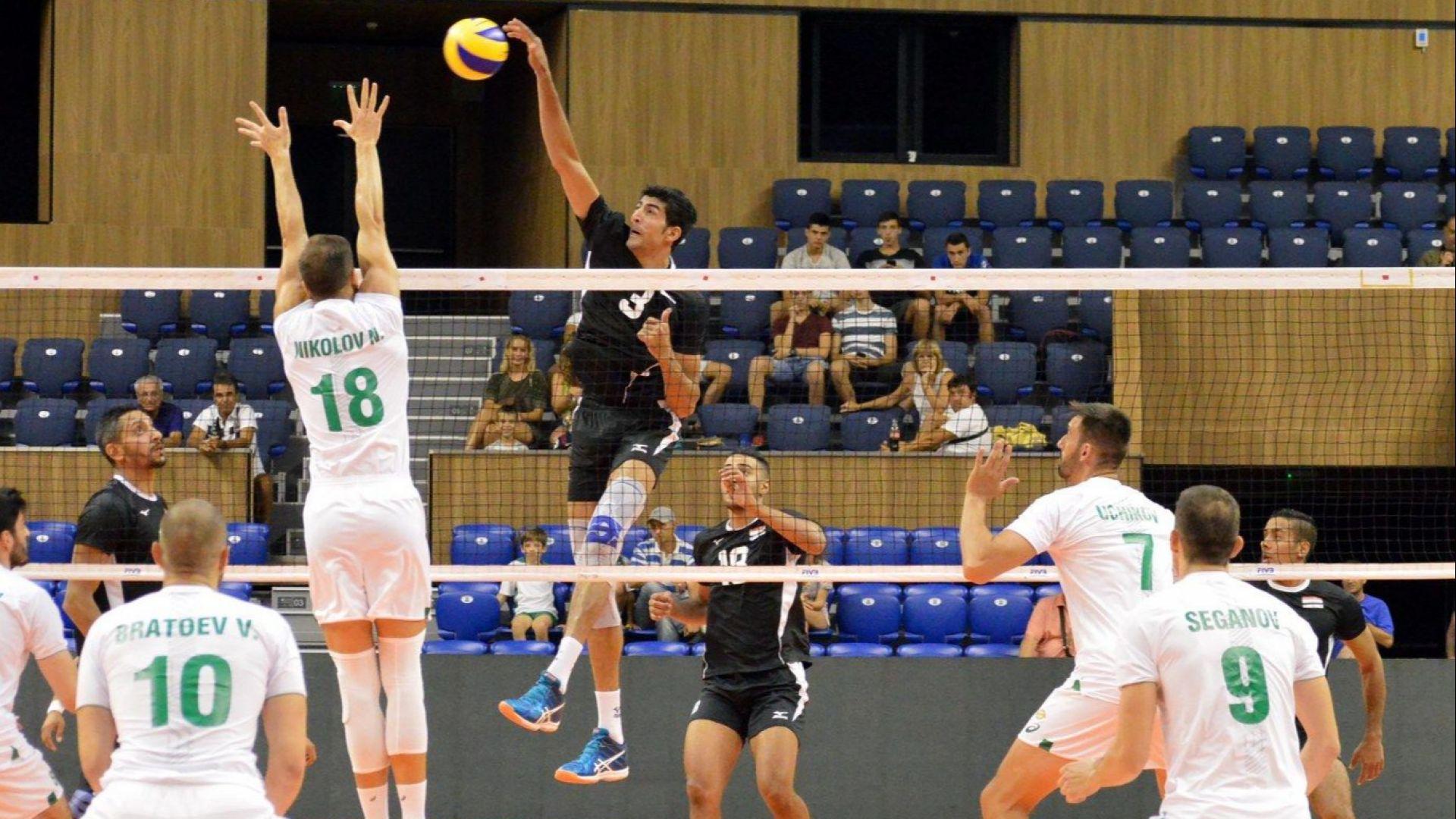 Волейболистите паднаха във втория мач с Египет