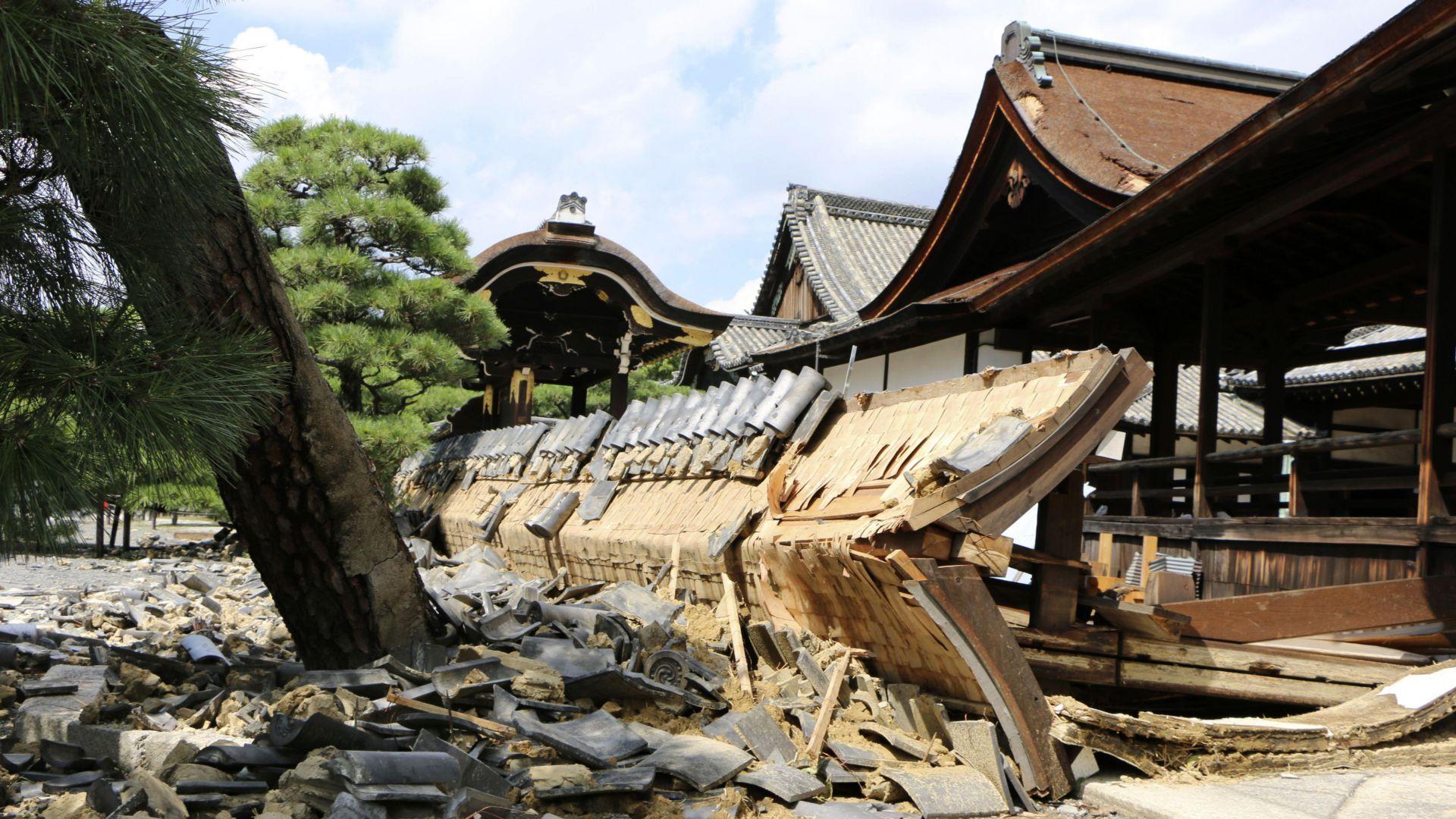Тайфунът Джеби от Япония се изнася към Сахалин