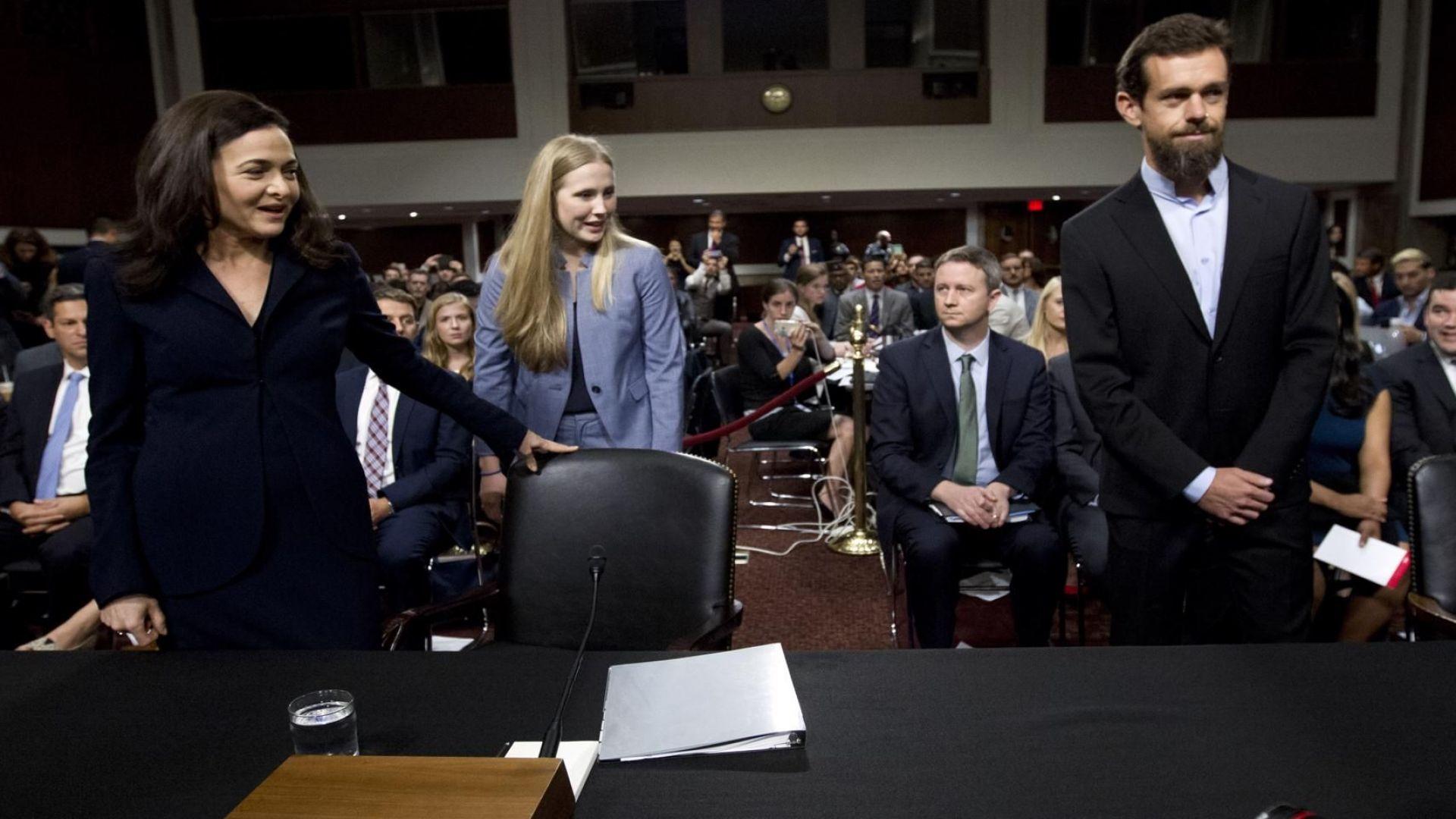 Фейсбук и Туитър признаха: Бяхме неподготвени за руската намеса в изборите в САЩ