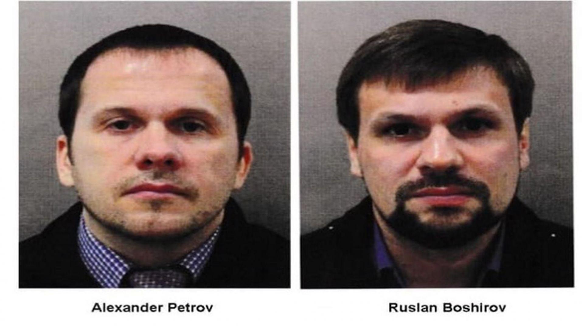 Имената на двамата издирвани от великобритания руснаци може и да не са истинските им