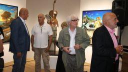"""Откриха изложбата """"Трима парижани в Пловдив"""", която Никола Манев готвеше приживе"""