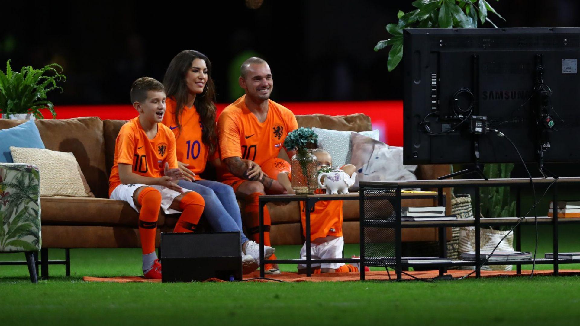 Холандия изпрати големия Уесли Снайдер подобаващо (резултати)