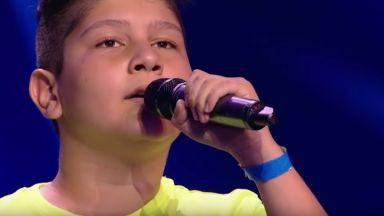 """12-годишно българче вдигна на крака журито на """"Чехия търси талант"""""""